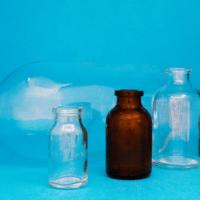 I flaconi vetro per le analisi mediche
