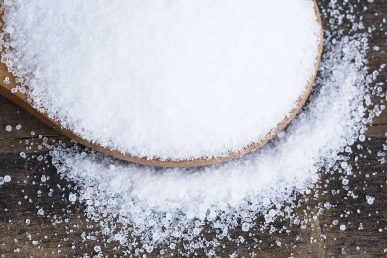 Le proprietà del sale