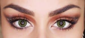 lenti a contatto colorate verdi